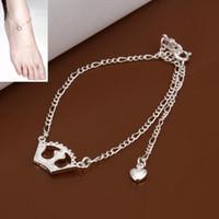 boot jewelry - pulseras pie heel chains fantasias femininas leg bracelet crown boot jewelry chains slave anklet