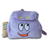 bags dora - Mochilas Children School Bags Cartoon Adventurous Dora Backpacks Plush with Map Kindergarten The Explorer Rescue