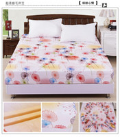 Wholesale NEW bed fitted sheet reactive printing cm sanding coverlet Cotton bedspread aloe the fitted Colorful mood