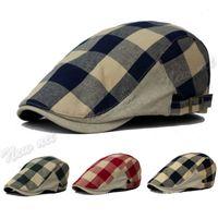 Wholesale Newest Fashion Duck Mesh Summer Gatsby Cap Mens Ivy Hat Golf Driving Sun Flat Cabbie Newsboy Hot Sale