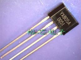 Wholesale Solar Chips Wholesale - Wholesale-50PCS lot Solar lawn lamp controller, LED lawn lamp drivers, LED control chip YX805A solar energy