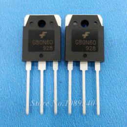 Wholesale G80N60 G80N60UFD SGH80N60UFD A V TO P IGBT Field effect Triode new original