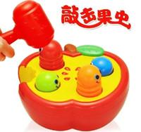 baby cognitive development - Plastic Suit toy combination cartoon Tap on a whack a mole Noise Maker toys Early Development baby cognitive infant gift pc