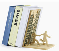 artistic paper - Free Sipping Pieces The Fugitive Run For Your Life Bookends Running Man Book End Artistic Home Decor