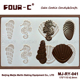 Shell shape candy silicone chocolate mold,cake decoration mould ,chocolate decorating tools,chocolate mould makers