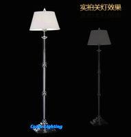 artistic floor lamps - Modern Artistic Full Lead Crystal Flower Vase Floor Standing Lamps Lights Lighting Fixtures Model FL N016