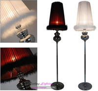 Cheap Wholesale Discount Free Shipping Hot Selling Wholesale Fabric Fur  Floor Lamp Floor Lighting Fixture