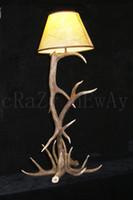 artistic floor lamps - L W H cm Traditional Classic Art Deco Retro Artistic Antler Floor Lamp Vintage antique rustic American