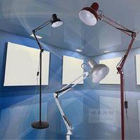Wholesale LED vertical telescoping floor lamp mahjong parlor bedroom den office work simple tattoo bedside floor lamp