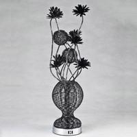 aluminum flower vases - lowest price aluminum string flower vase floor lamp novel hand made G4 decor floor lamp bedroom decor lighting