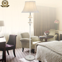 beautiful floor lamps - Beautiful fashion classical rustic white fabric lamp cover seclusion1 floor lamp brief iron resin lamp