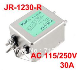 Wholesale Alternating Current Power Line EMI Filter AC V Hz A JR R