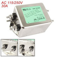 ac power rating - A Rated Current AC V JR R Power Line EMI Filter