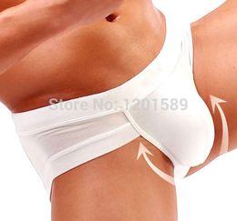 Wholesale High Quality Mens Underwear Man Sexy Briefs Penis Pouch Underware Modal Solid Designer Best Price Colors Size M XXL
