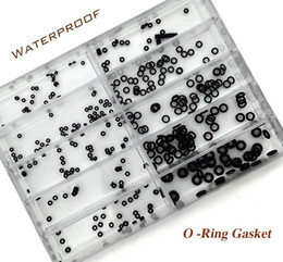 Wholesale-10 Size Rubber Watch O-Ring GASKET set for Watch Crown Parts of Waterproof Watches Watchmaker's Repair Set Tool Kit