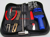 banding tool kit - in Watch Clock Repair Case Opener Wristwatch Strap Band Repair Tools Set Kit