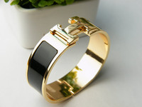 Wholesale H wider bracelet gold plated hot sell
