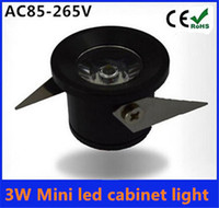 Wholesale W Mini led cabinet light AC85 V mini led spot downlight include led drive CE ROHS ceiling lamp mini light