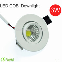 bathroom cabinet sizes - LED Mini Downlight W COB Luminaria led ceiling spot lights Lamp for Bathroom cabinet kitchen light v v hole size mm