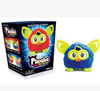 furby - Newest Firby Boom Plush Toy Talking Firbi Elves Recording Pelucia Electronic Toys For Kids Compatible with Furby