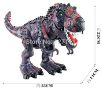 Wholesale Electric toy large size walking dinosaur robot With Light Sound Tyrannosaurus Rex kids toys