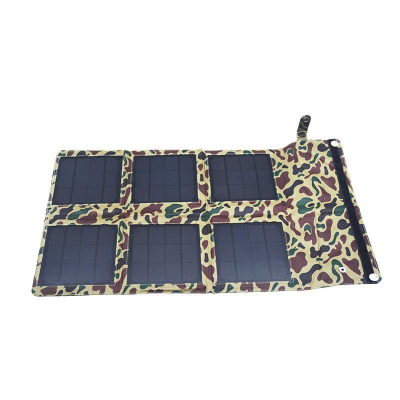 Wholesale-Folding Portable 18W Solar Panel,waterpoof Polycrystalline silicon power bank,Charger for Smart phone I Pad digital camera ect