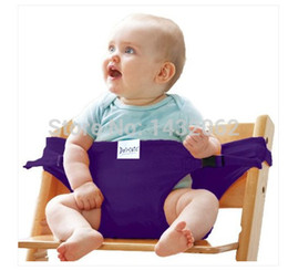 Wholesale Fashion brand baby backpacks Doomagic Baby Safety Chair seat belts adjustable strap portable sling cotton colors