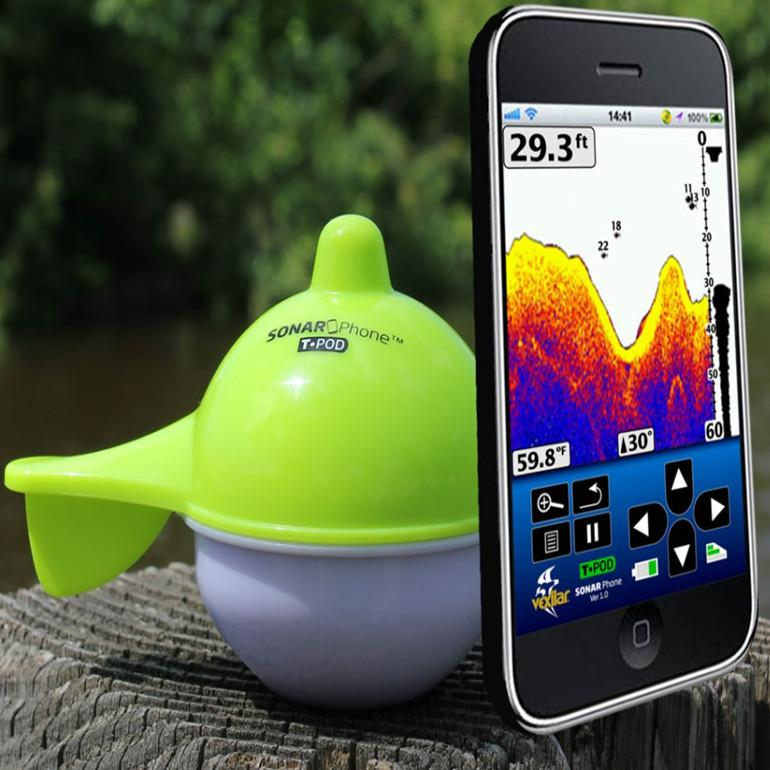 wholesale vexilar mobile phone fish finder wireless sonar fish, Fish Finder
