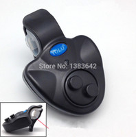 alert button cell - Waterproof Electronic Fishing Sound Bite Finder Alarm LED Light Alert Bell Taking x LR44 Button Cell