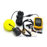 Wholesale Waterproof Wired Fish Finder Sonar Echo Sounder Fishfinder with LCD Screen Display M Depth Max