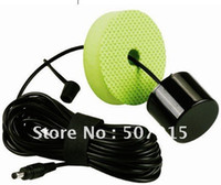 angle transducer - Portable Fish Finder Small round transducer with m cable degree beam angle