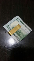 bank gift cards - New Hot Stainless Steel Money And Bank Card Clip Fashion Gift Gold Color