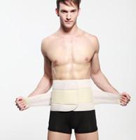 lumbar support - Men Waist Support lumbar protector fitness belts waist Cinchers Belly Bustiers Body shapers Belt Male Control Band slimming belt