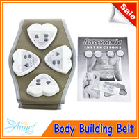 Wholesale Electronic AB Gymnic Gymnastic Body Building ABS Belt Exercise Toning Toner Waist Muscle