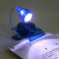 battery clamp lamp - LED ebook lamp clamp lamp learning clip lamp Book Light