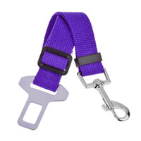 automotive fabrics - High Quality Adjustable Dog Car Automotive Seat Belt Nylon Fabric Safety Driving Belt for Pet Dogs
