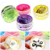 Wholesale Fashion Mini Light Up Yoyo Toy Colorful Flashing Yo Yo Children s Toys Gifts
