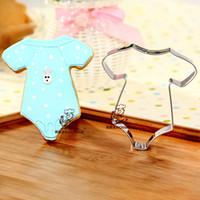 baby metal shirts - Baby shirt shape metal cookie cutter tools bakeware