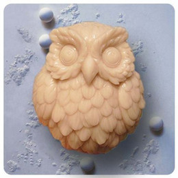 Wholesale Owl S0142 Craft Art Silicone Soap mold Craft Molds DIY Handmade soap molds
