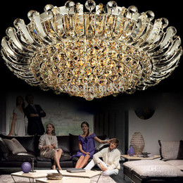 Wholesale USA Canada Fedex Modern Lights Living Room K9 Crystal Ceiling Lamp Chandelier Fast Delivery Pendant Crystal
