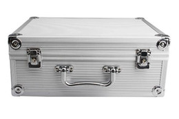 Beautiful Aluminum Tattoo Kit Case Traveling Carry Box With Lock Convention