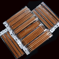 Wholesale New Arrival sizes Double Point Carbonized Knitting Bamboo Needles