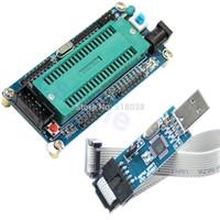 avr isp programming - A25 Newest set ATMEL For ATMEGA16 ATmega32 AVR Minimum System Board USB ISP USBasp Programme
