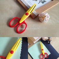 assorted pictures - New Creative Cut Picture Photo Paper Flower Edging Scissors Assorted Design Decorative Kids Children Girls DIY Hand Tool