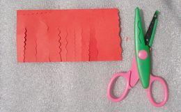 Wholesale Best DIY Cool Paper Photo Craft Pattern Scissors