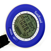 dc electronic meter - Sonar Wireless Fish Finder Electronic Altimeter Barometer Thermometer Elevation Tables Water proof Pressure Gauge0
