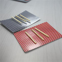 bar card tricks - Personalized Close Up Magic Incredible Floating Card High Quality Toothpick Match On Card Street Bar Trick