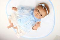 Cheap Hot sale Newborn Handmade Lovely Reborn Baby Doll Silicone Simulation Reborn baby Doll