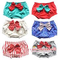 beach bloomer - Children s clothing baby girl s pants female baby beautiful cotton bloomers shorts beach shorts