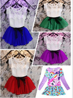 little girls clothing - New Little girl long sleeve dress my pony clothes cartoon kids party tutu Autumn Spring Cute Clothes New Y